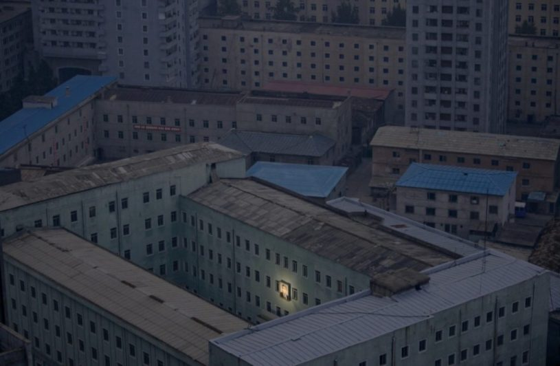 black out in north korea